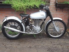 Navigate to Lot 111 - 1950 Norton Trials Bike