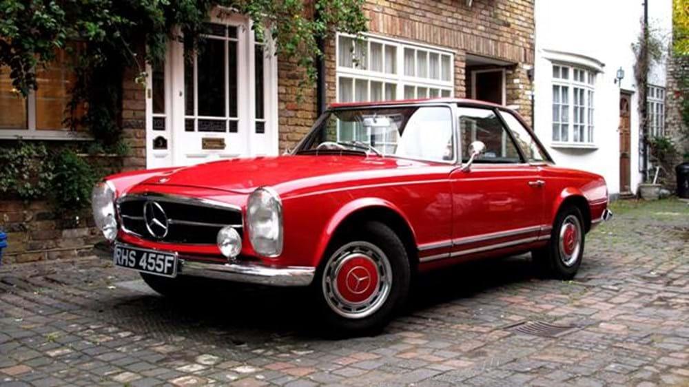 1967 mercedes benz 250 sl classic sports car auctioneers for Mercedes benz 250sl