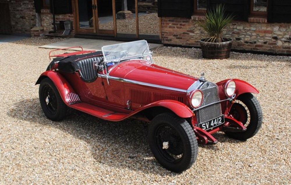 Lot 283 - 1930 12838 6C Grand Sport (1750cc) in the style of Zagato