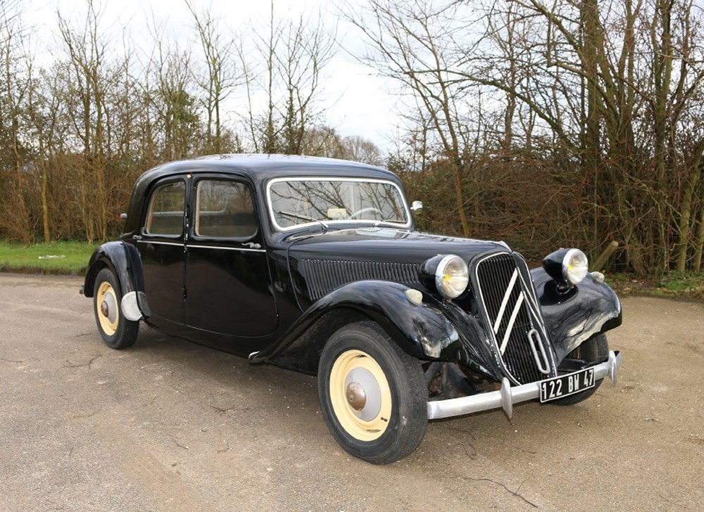 ref 58 1939 citroen light 15 classic sports car auctioneers. Black Bedroom Furniture Sets. Home Design Ideas