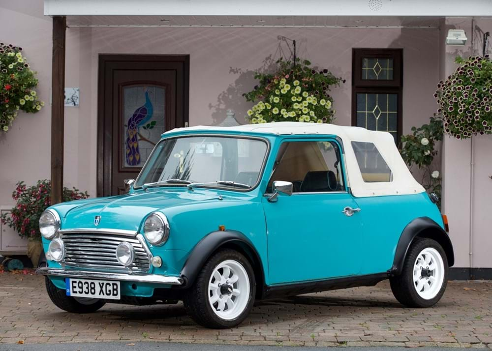 Lot 120 - 1987 Austin Mini Convertible