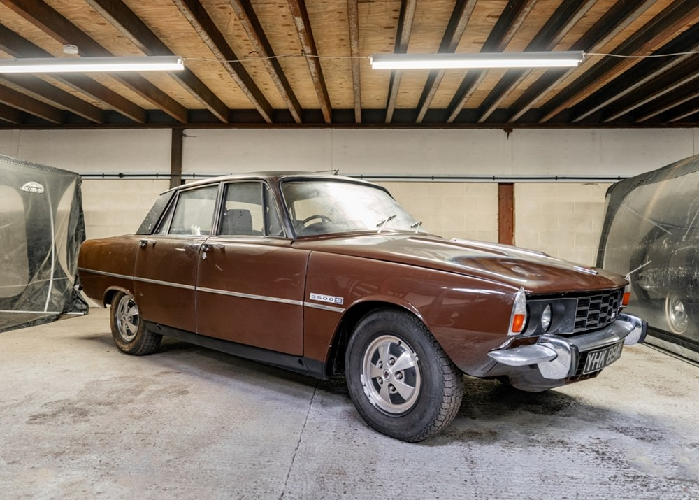 Lot 219 - 1973 Rover P6 3500 S