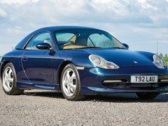 Navigate to Lot 113 - 1999 Porsche 911/996 Cabriolet