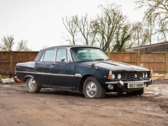 Navigate to Lot 115 - 1974 Rover P6 3500