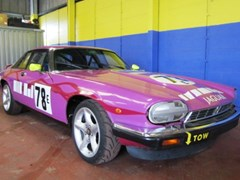 Navigate to Lot 312 - 1986 12947 XJS Silk Cut Racing Car
