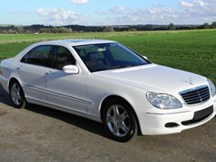 Navigate to Lot 217 - 2004 Mercedes-Benz S500 Saloon
