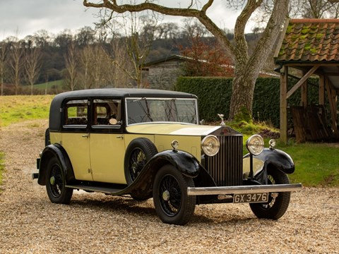 Ref 45 1932 Rolls-Royce 20/25 Saloon (with division) by Park Ward EBS