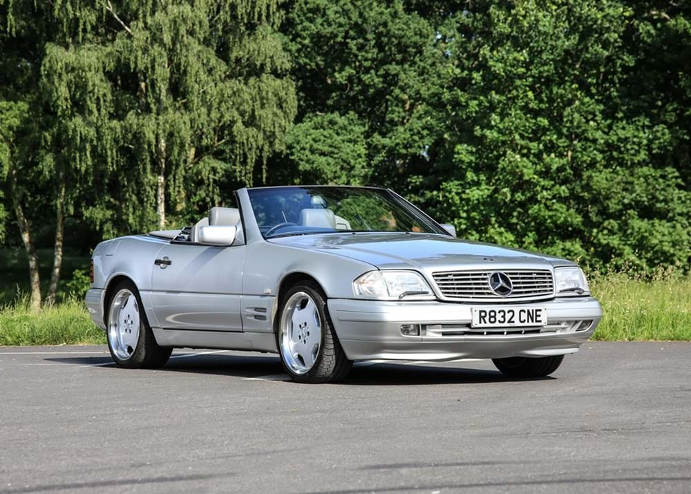 Lot 277 - 1998 Mercedes-Benz SL 320 Roadster