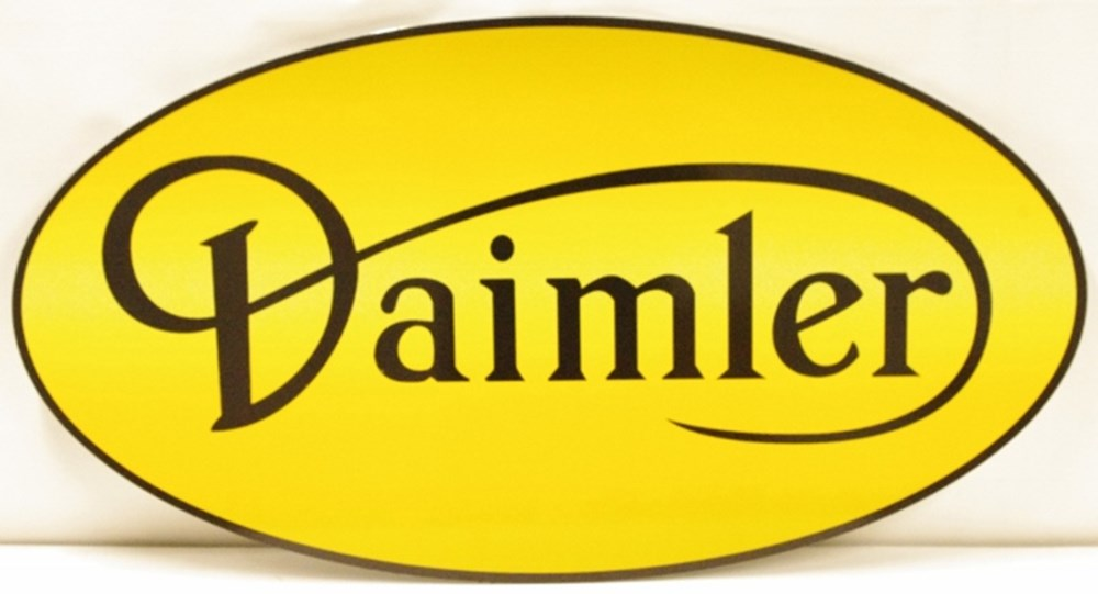 Lot 48. - Daimler sign.