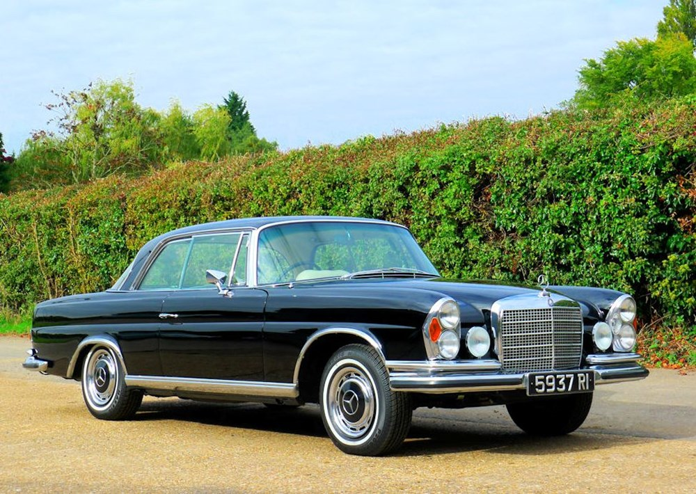 Lot 269 - 1970 Mercedes-Benz 280SE Fixedhead Coupé (3.5 litre)