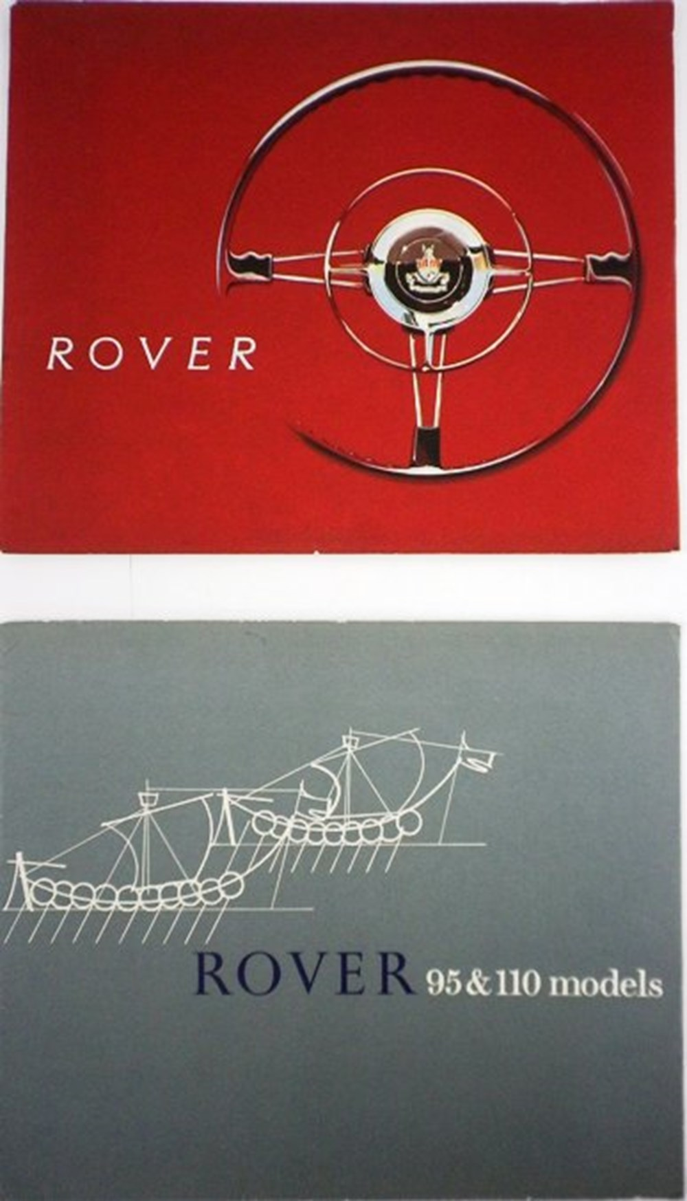 Lot 045 - Rover brochures