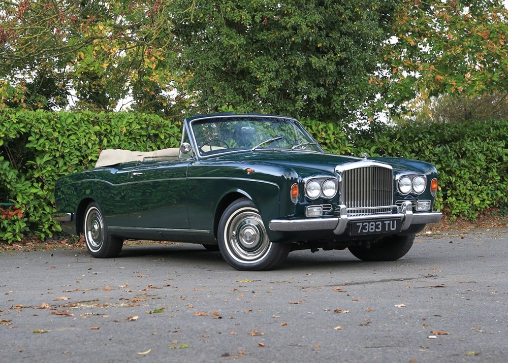 Lot 234 - 1968 Bentley T1 Convertible by Mulliner