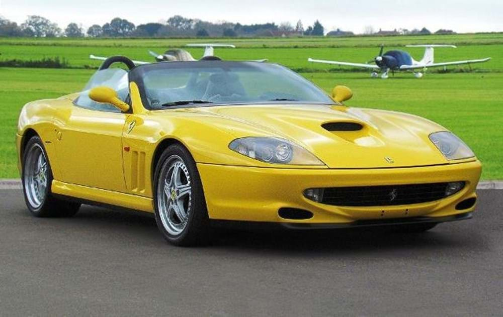 Lot 279 - 2001 Ferrari 550 Barchetta by Pininfarina