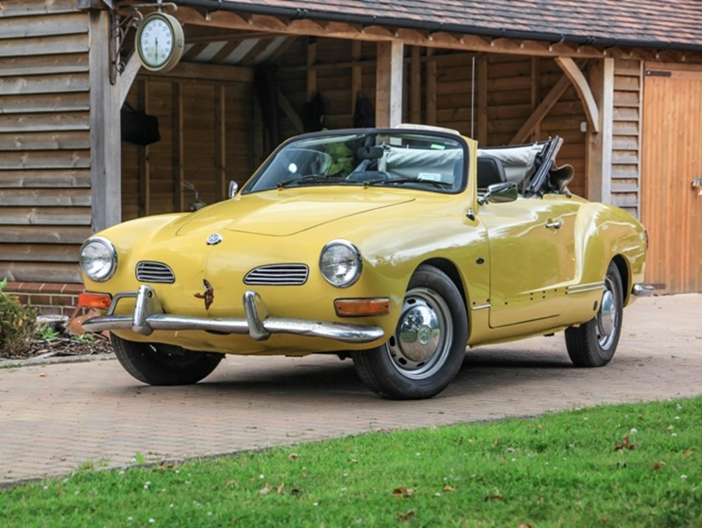 Lot 219 - 1971 Volkswagen Karmann Ghia Convertible