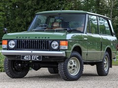 Navigate to Lot 158 - 1973 Range Rover Suffix B 'Two-door'