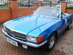 Navigate to Lot 268 - 1978 Mercedes-Benz 280SL