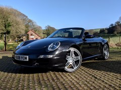 Navigate to Lot 134 - 2008 Porsche 911 / 997 Carrera 2 Cabriolet Tiptronic S