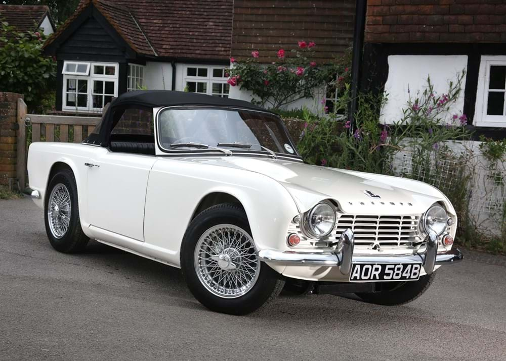 Lot 263 - 1964 Triumph TR4 Roadster