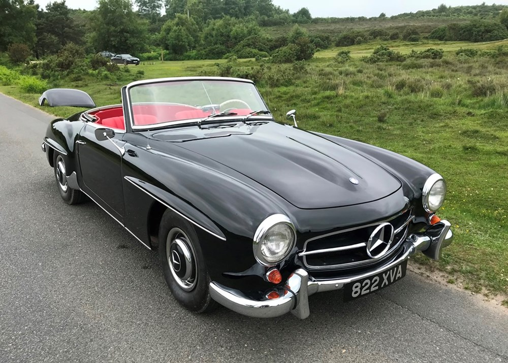 Lot 231 - 1962 Mercedes-Benz 190 SL Roadster