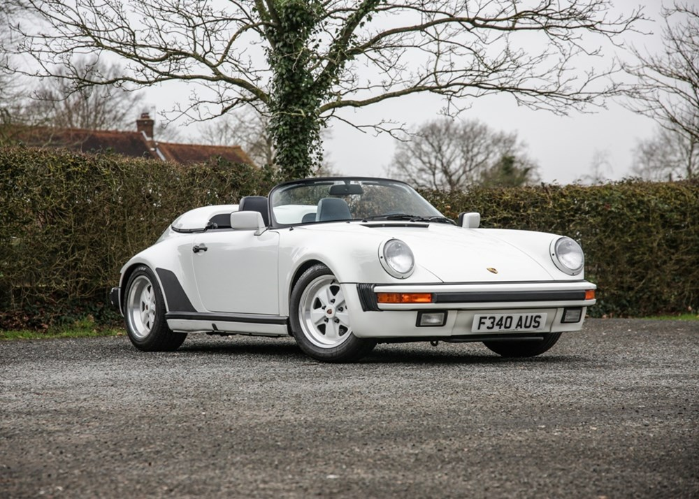 Lot 241 - 1989 Porsche 911 Speedster