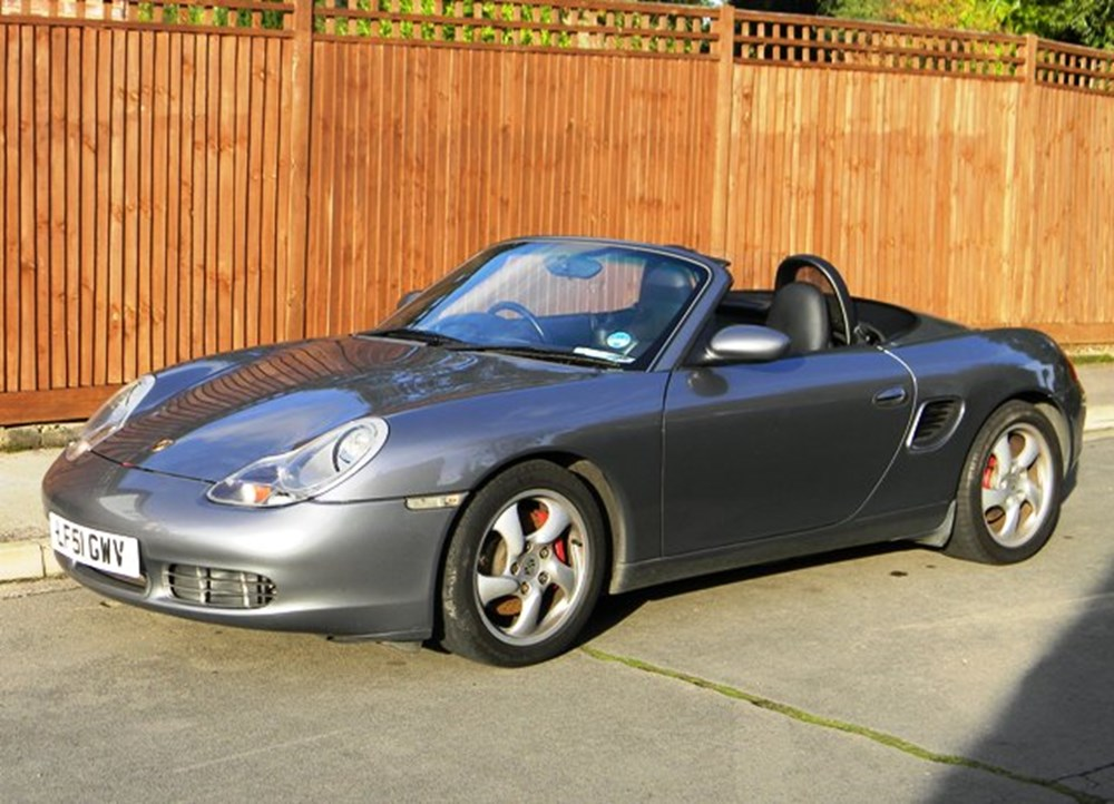 2001 porsche boxster s classic sports car auctioneers. Black Bedroom Furniture Sets. Home Design Ideas
