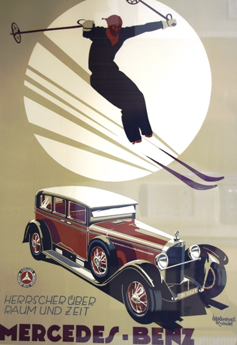 Lot 004 - Mercedes-Benz advertising posters