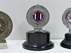 Navigate to Three motoring badges.