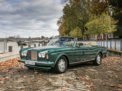 Navigate to Lot 197 - 1989 Bentley Continental Convertible