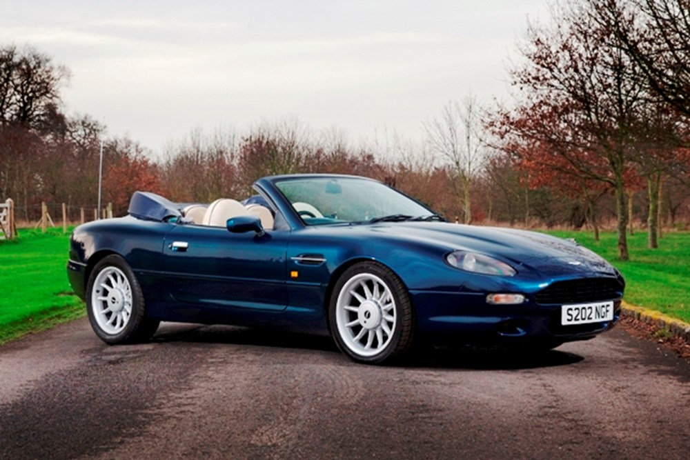 Lot 157 - 1998 Aston Martin DB7 Volante