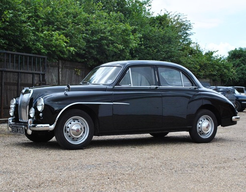 Lot 237 - 1955 MG Magnette ZA