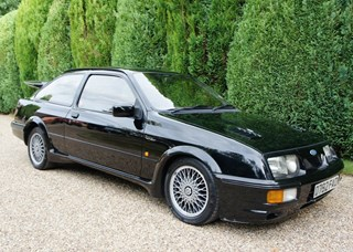 One owner, 31-year old Ford Sierra RS Cosworth is the epitome of enjoyment
