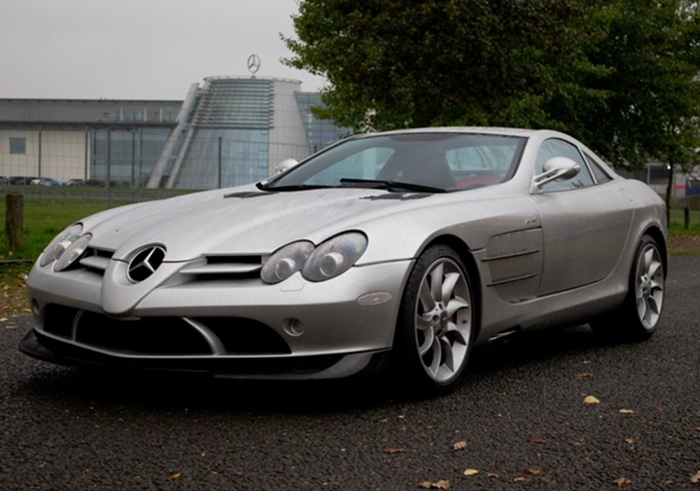 Lot 297 - 2005 Mercedes-Benz SLR McLaren Coupé