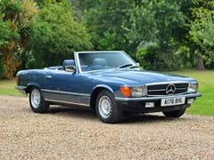 Navigate to Lot 175 - 1984 Mercedes-Benz 280 SL Roadster