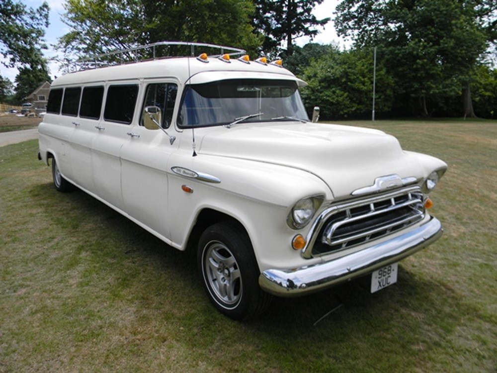 Lot 296 - 1957 Chevrolet Stageway Carry-All Crew Bus