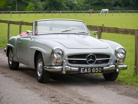 Ref 43 Mercedes-Benz 190SL Roadster