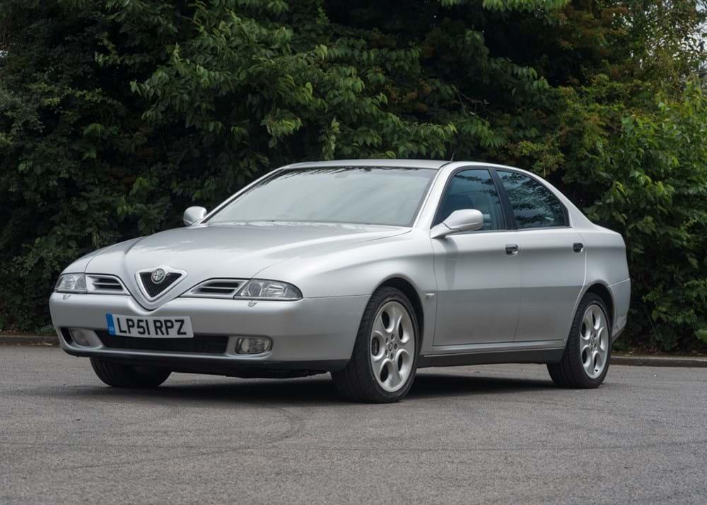 ref 112 2001 alfa romeo 166 - classic & sports car auctioneers