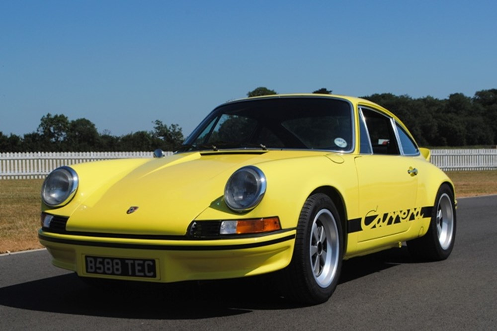 Lot 303 - 1989 Porsche 911 Carrera to 1973 RS Specification (yellow)