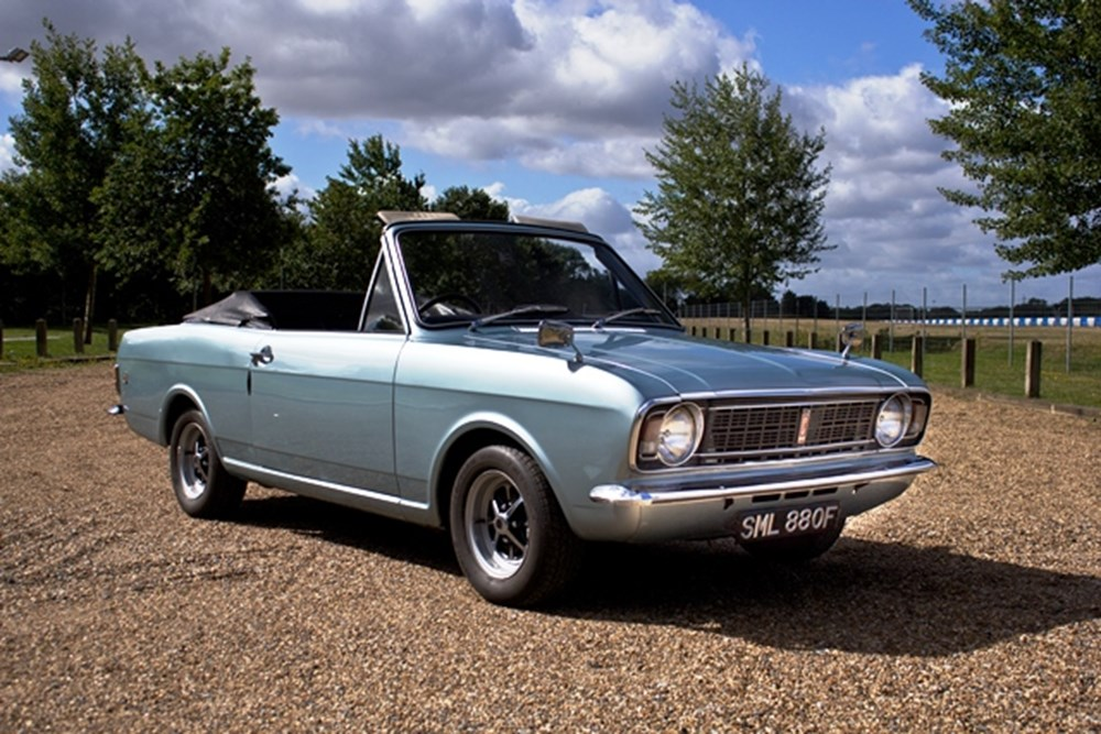 Lot 240 - 1967 Ford Cortina Mk .II 1500GT Crayford Convertible