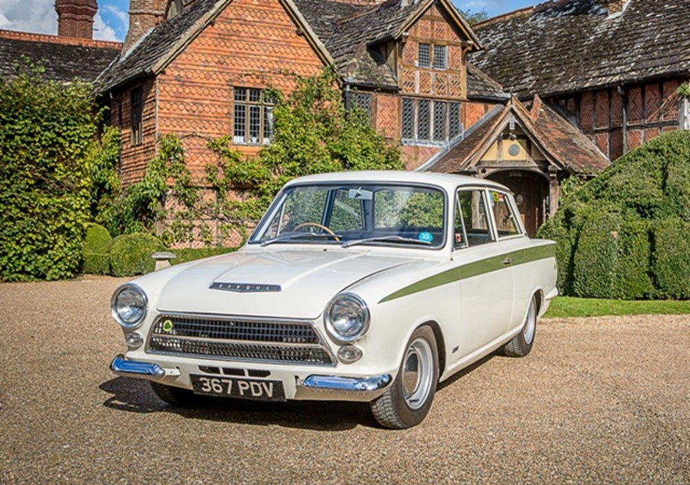 Lot 163 - 1963 Ford Lotus Cortina Mk. I