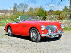 Navigate to Lot 153 - 1955 Austin-Healey 100/4 BN1