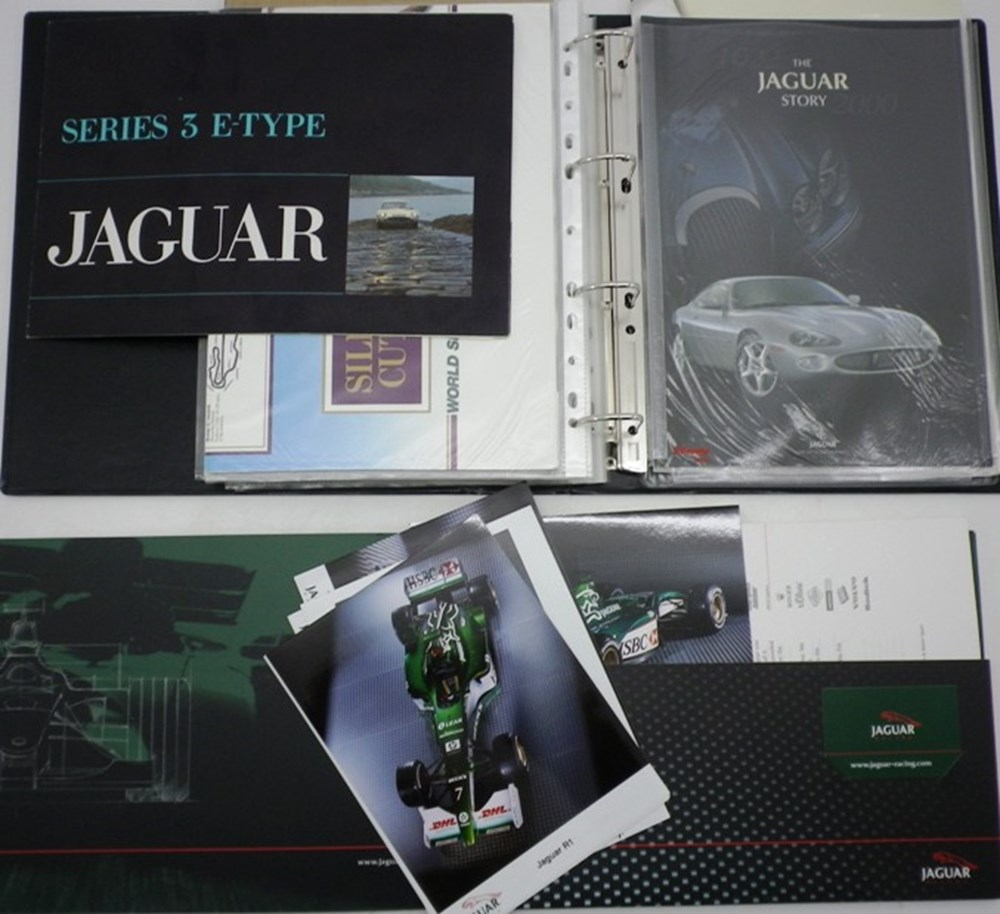 Lot 76 - Jaguar cars.