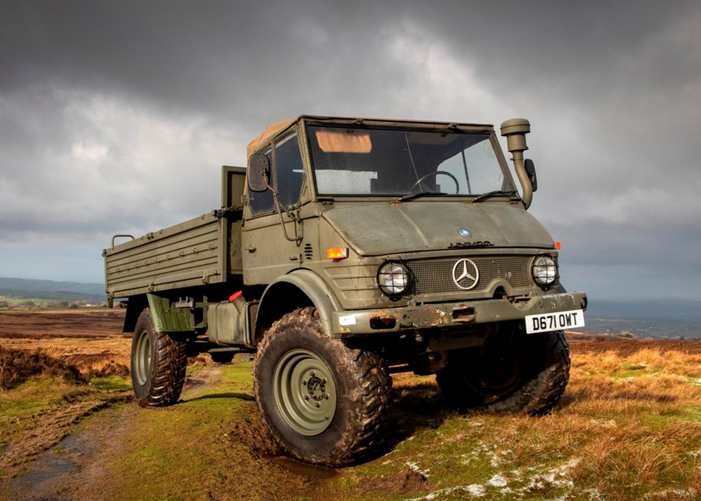Lot 127 - 1986 Mercedes-Benz Unimog U1100