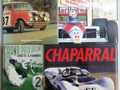 Navigate to 12 motoring books
