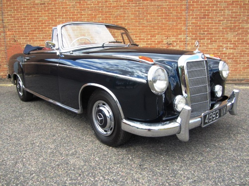 Ref 91 1960 mercedes benz 220 se ponton cabriolet for 91 mercedes benz