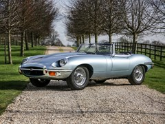 Navigate to Lot 213 - 1969 Jaguar E-Type Series II Roadster (4.2 litre)