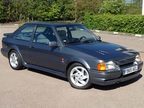 Ref 151 1988 Ford Escort RS Turbo S2