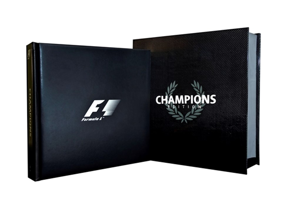 Lot 120 - F1 Opus Champions limited edition book