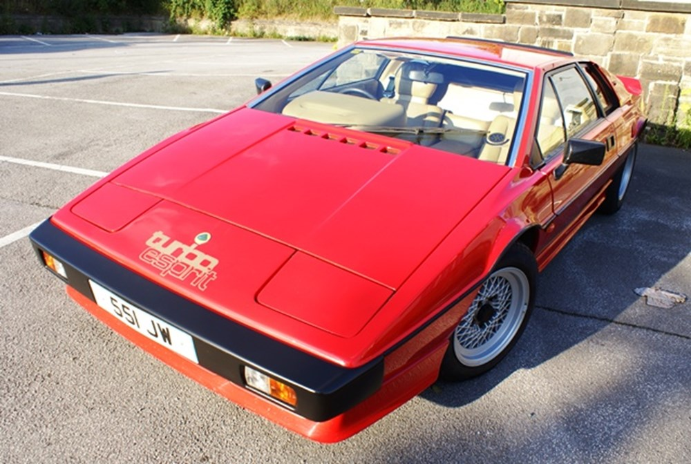 Lot 220 - 1984 Lotus Esprit Turbo