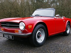 Navigate to Lot 218 - 1969 13093 TR6
