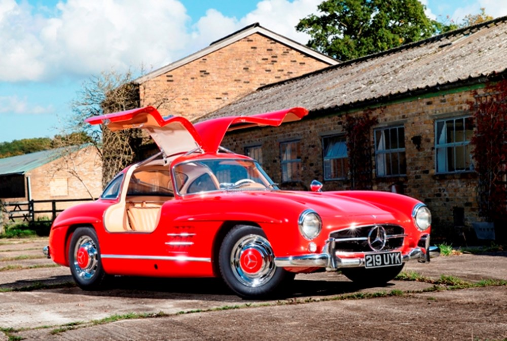 Lot 282 - 1955 Mercedes-Benz 300SL 'Gullwing'